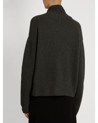 Le Kasha - Natural Verbier Ribbed-knit Cashmere Sweater - Lyst