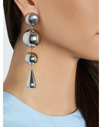 J.W.Anderson - Metallic Multi-sphere Drop Earrings - Lyst