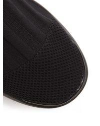 Acne - Black Batilda Mid-top Sock Trainers - Lyst
