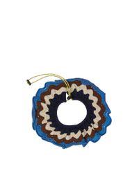 Marni - Blue Scallop-edged Crochet Collar - Lyst