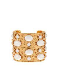 Sylvia Toledano | Multicolor Byzance Medium Gold-plated Cuff | Lyst