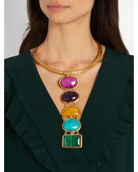 Sylvia Toledano - Multicolor Torque Gold-plated Choker - Lyst