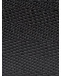 Balenciaga - Black Chevron Striped Bi-fold Leather Wallet for Men - Lyst