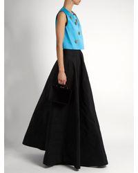Maison Rabih Kayrouz - Black High-rise A-line Maxi Skirt - Lyst