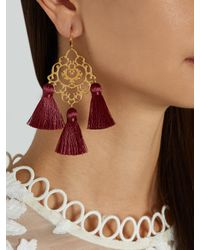 Marte Frisnes - Multicolor Rita Tassel Earrings - Lyst