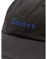 Etudes Studio - Black Still Logo-embroidered Cotton Cap for Men - Lyst