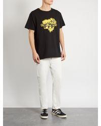 Off-White c/o Virgil Abloh - Black Horror Cotton T-shirt for Men - Lyst