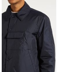 Acne Blue Munich Padded Jacket for men
