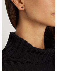 Loren Stewart - Blue Ruby & Sapphire Earrings - Lyst