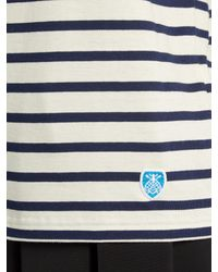 Orcival - Multicolor Breton-striped Cotton Top - Lyst