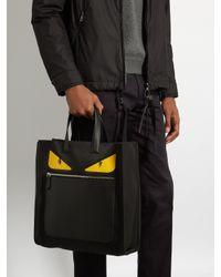 Fendi | Black Bag Bugs Shopper Tote for Men | Lyst