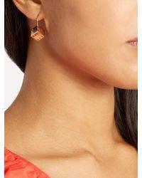 Alison Lou - Metallic Diamond & Yellow-gold Dice Earrings - Lyst