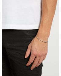 Title Of Work | Metallic Rose-gold And Sterling-silver Cuff for Men | Lyst