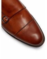Church's - Brown Detroit Double Monk-strap Leather Shoes for Men - Lyst