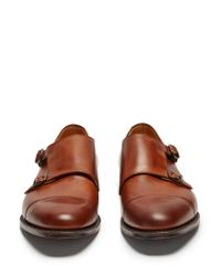Church's - Brown Detroit Double Monk-strap Leather Shoes for Men - Lyst