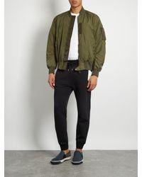 Moncler - Green Timothe Shell Bomber Jacket for Men - Lyst