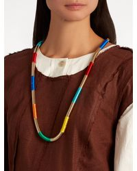 Rosantica By Michela Panero - Blue Isabel Double-tassel Necklace - Lyst