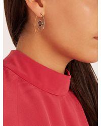 Noor Fares - Blue Diamond, Iolite & Yellow-gold Earrings - Lyst