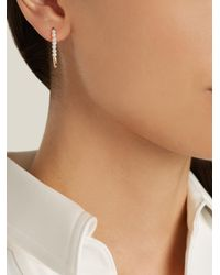 Loren Stewart - Metallic Pearl & Yellow-gold Earring - Lyst