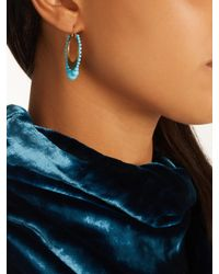 Irene Neuwirth - Blue Turquoise & Yellow-gold Earrings - Lyst