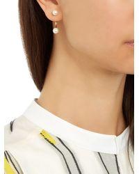 Delfina Delettrez - Pearl & Yellow-gold Single Earring - Lyst