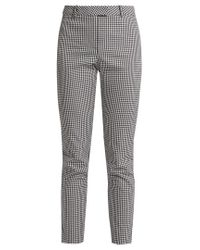 Altuzarra - Black Henri Slim-leg Cotton-blend Trousers - Lyst