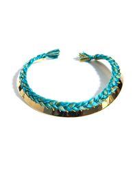 Aurelie Bidermann - Green Copacabana Gold Necklace - Lyst