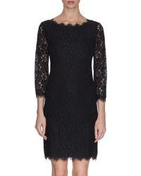 Diane von Furstenberg   Black Zarita Dress   Lyst