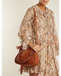 Chloé - Brown Medium Marcie Shoulder Bag - Lyst