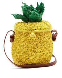 Sensi Studio - Yellow Pineapple Toquilla-straw Cross-body Bag - Lyst
