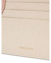 Roksanda - Multicolor Dot Bi Colour Leather Cardholder - Lyst