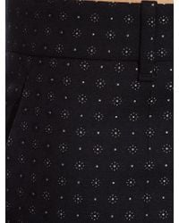 Gucci - Multicolor Dot-jacquard Skinny-fit Trousers - Lyst