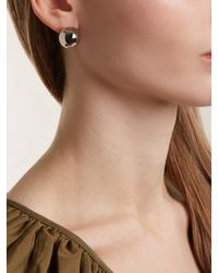 J.W. Anderson - Multicolor Sphere Palladium Plated Earrings - Lyst