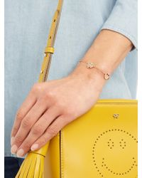 Alison Lou - Enamel & Yellow-gold I'm A Flirt Bracelet - Lyst