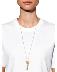 Carolina Bucci - Diamond, Sapphire & Yellow-gold Necklace - Lyst