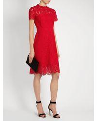 Diane von Furstenberg - Red Alma Dress - Lyst