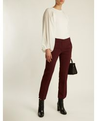 Sportmax - Red Procida Trousers - Lyst