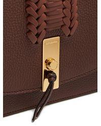 Altuzarra - Brown Ghianda Braided Pebbled-leather Shoulder Bag - Lyst