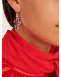 Irene Neuwirth - Pink Diamond, Tourmaline & Rose-gold Earrings - Lyst