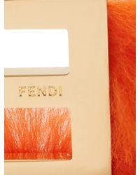 Fendi - Metallic Abclick Letter 'e' Key Charm - Lyst