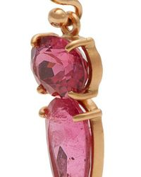 Irene Neuwirth - Pink Tourmaline & Rose-gold Earrings - Lyst