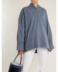 Rachel Comey - Blue Pitch Oversized Denim Top - Lyst