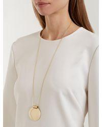 Fay Andrada - Metallic Pallo Large Brass Necklace - Lyst