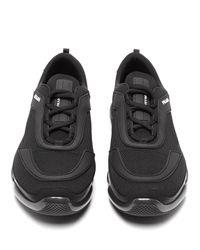 Prada - Black Cloudbust Knit Trainers for Men - Lyst