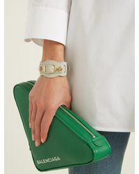 Balenciaga   Gray Classic Bracelet   Lyst