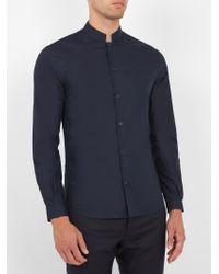 Éditions MR   Blue Office Cotton-poplin Shirt for Men   Lyst
