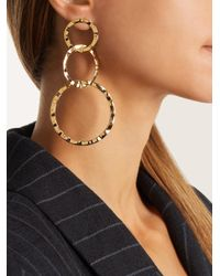 Isabel Marant - Metallic Africa Multi-linked Earrings - Lyst