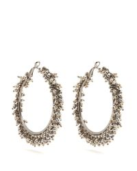 Rosantica By Michela Panero - Metallic Carmen Bead-embellished Earrings - Lyst