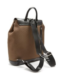 Mulberry - Multicolor Reston Nylon And Leather Backpack for Men - Lyst