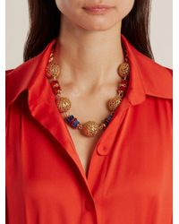 Dolce & Gabbana - Metallic Charm-embellished Necklace - Lyst